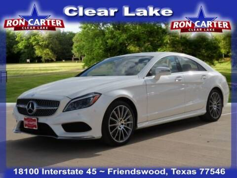2017 Mercedes-Benz CLS for sale at Ron Carter  Clear Lake Used Cars in Houston TX