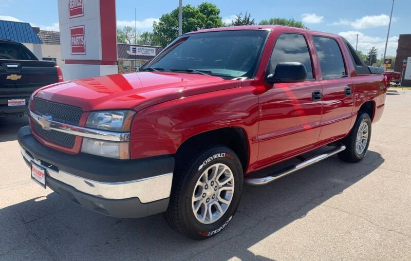 2004 Chevrolet Avalanche for sale at Spady Used Cars in Holdrege NE