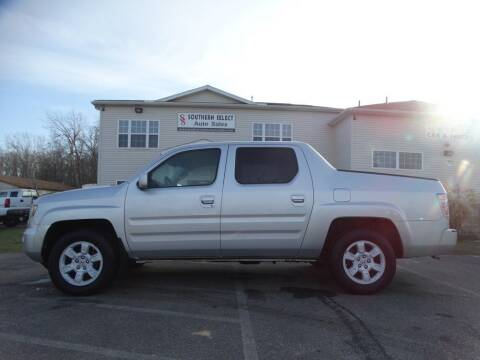 2007 Honda Ridgeline for sale at SOUTHERN SELECT AUTO SALES in Medina OH