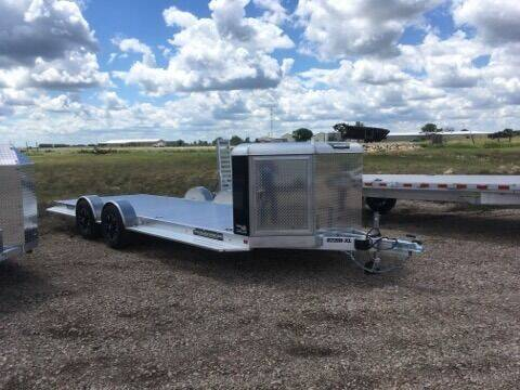 2021 Aluma 8220H-XL-TA-EL-R-RTD-CB-Black for sale at Prairie Wind Trailers, LLC in Harrisburg SD
