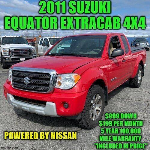 2011 Suzuki Equator Sport