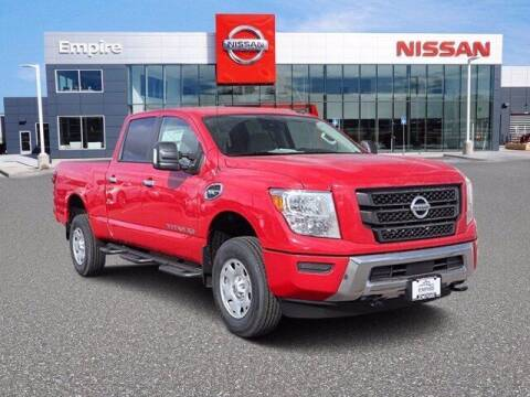 2021 Nissan Titan XD for sale at EMPIRE LAKEWOOD NISSAN in Lakewood CO