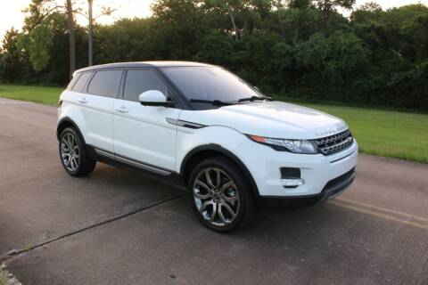 2015 Land Rover Range Rover Evoque for sale at Clear Lake Auto World in League City TX