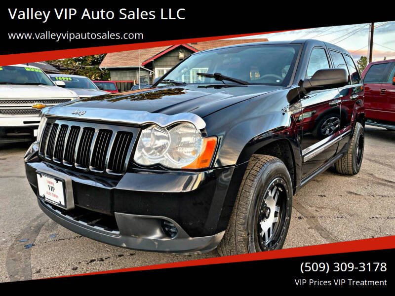 2008 Jeep Grand Cherokee for sale at Valley VIP Auto Sales LLC in Spokane Valley WA