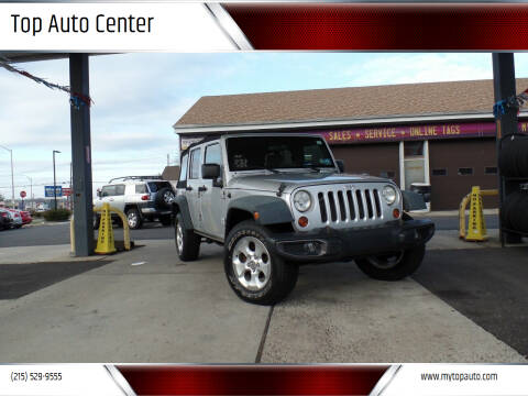 2008 Jeep Wrangler Unlimited for sale at Top Auto Center in Quakertown PA
