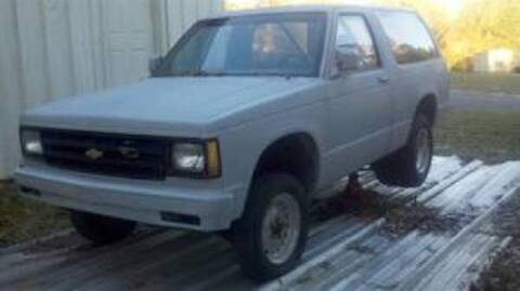 1986 Chevrolet Blazer for sale at Haggle Me Classics in Hobart IN