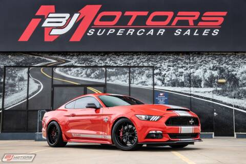 2015 Ford Mustang for sale at BJ Motors in Tomball TX
