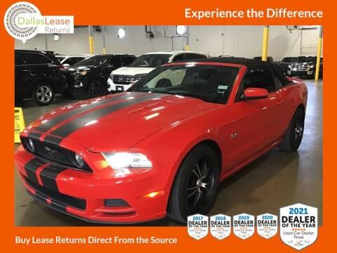 2014 Ford Mustang for sale at Dallas Auto Finance in Dallas TX
