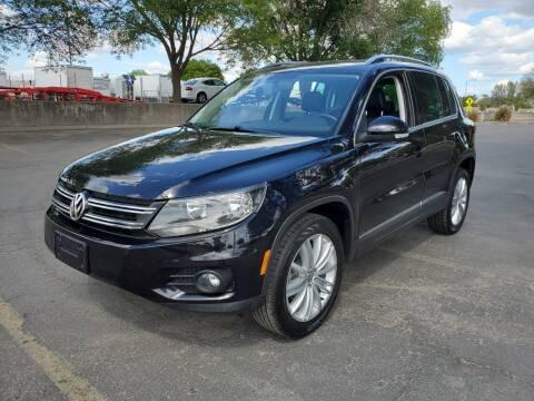 2015 Volkswagen Tiguan for sale at Matador Motors in Sacramento CA