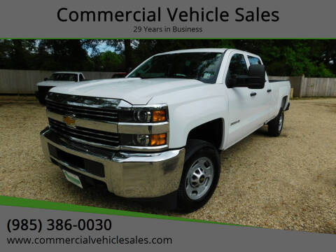 2018 Chevrolet Silverado 2500HD for sale at Commercial Vehicle Sales in Ponchatoula LA