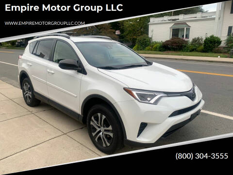 2018 Toyota RAV4 for sale at Empire Motor Group LLC in Plaistow NH