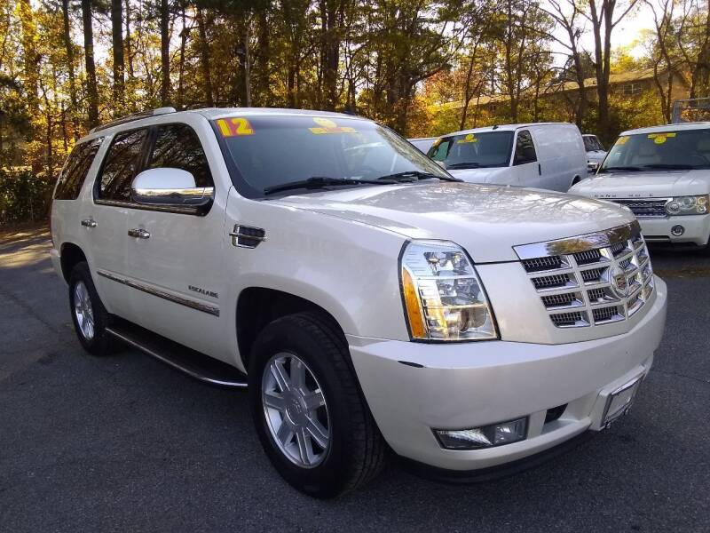 2012 Cadillac Escalade for sale at Import Plus Auto Sales in Norcross GA