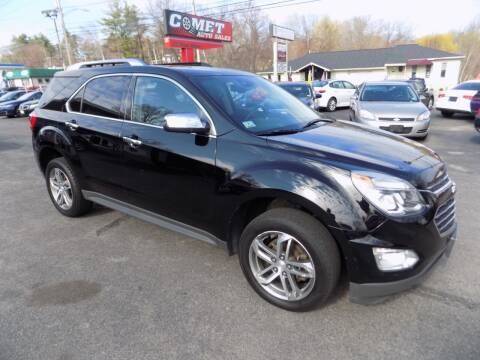 2016 Chevrolet Equinox for sale at Comet Auto Sales in Manchester NH