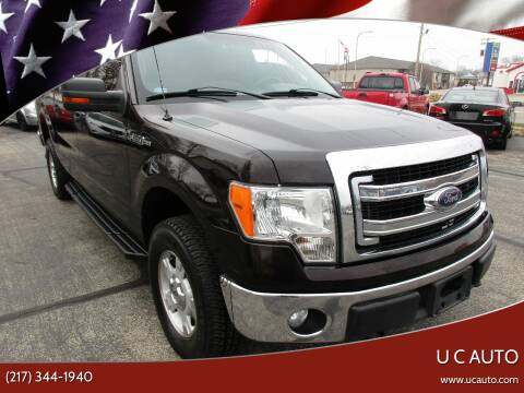 2014 Ford F-150 for sale at U C AUTO in Urbana IL