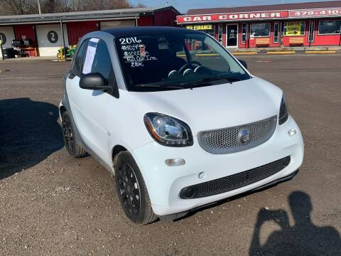 2016 Smart fortwo for sale at CAR CORNER in Van Buren AR