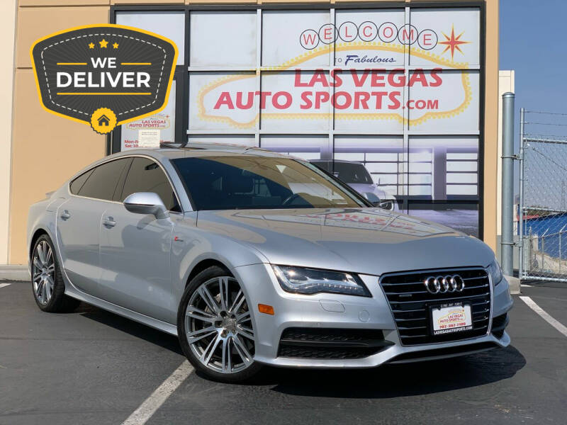 2012 Audi A7 for sale at Las Vegas Auto Sports in Las Vegas NV
