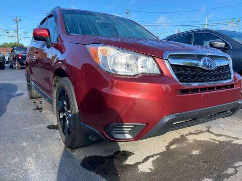 2014 Subaru Forester for sale at Auto Exchange in The Plains OH