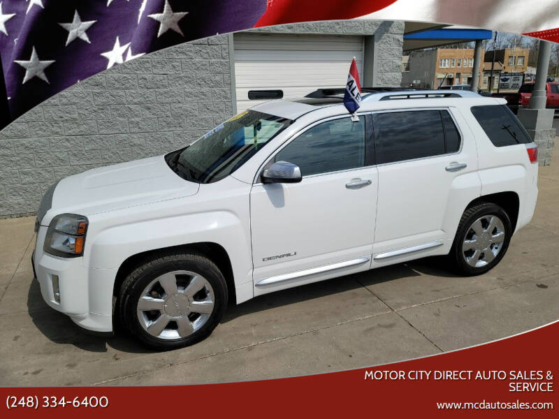 2014 GMC Terrain for sale at Motor City Direct Auto Sales & Service in Pontiac MI
