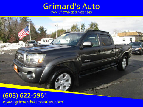 2009 Toyota Tacoma for sale at Grimard's Auto in Hooksett, NH