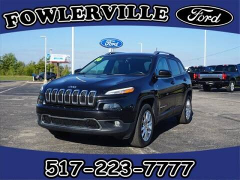 2016 Jeep Cherokee for sale at FOWLERVILLE FORD in Fowlerville MI