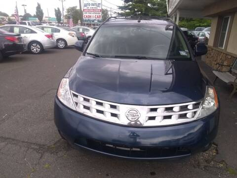 2004 Nissan Murano for sale at Wilson Investments LLC in Ewing NJ