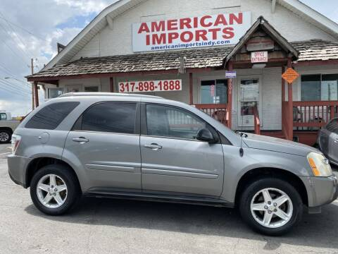 2005 Chevrolet Equinox for sale at American Imports INC in Indianapolis IN