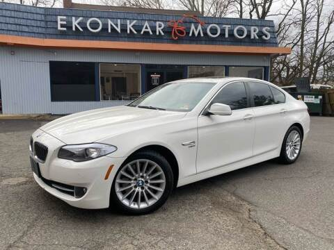 2012 BMW 5 Series for sale at Ekonkar Motors in Scotch Plains NJ