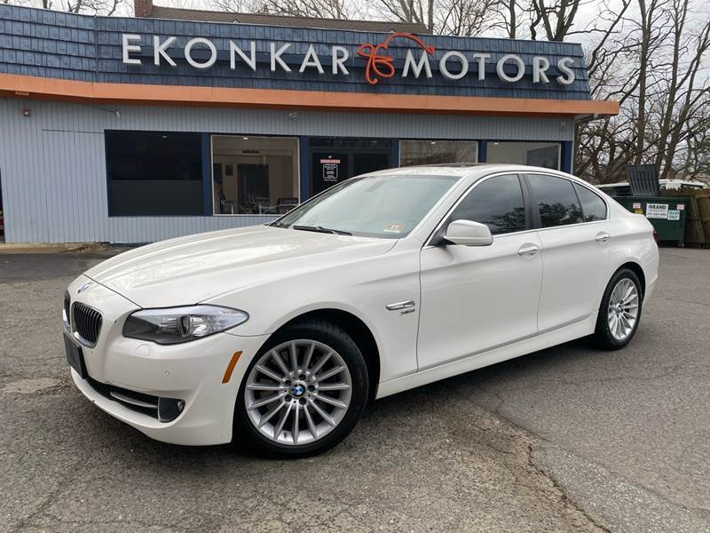 2012 BMW 5 Series for sale at Ekonkar Motors in Scotch Plains NJ