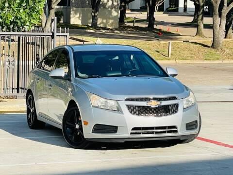 2012 Chevrolet Cruze for sale at Texas Drive Auto in Dallas TX