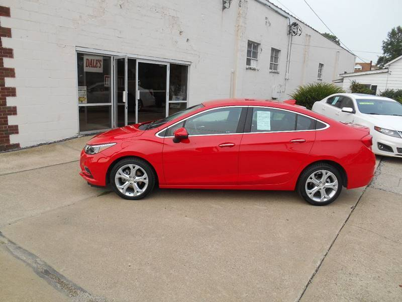 2017 Chevrolet Cruze for sale at DALE'S PREOWNED AUTO SALES INC in Moundsville WV