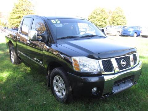 2005 Nissan Titan for sale at Reza Dabestani in Knoxville TN