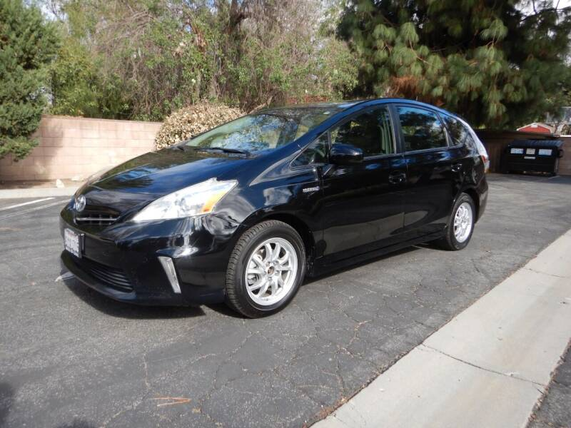 2013 Toyota Prius v for sale at California Cadillac & Collectibles in Los Angeles CA