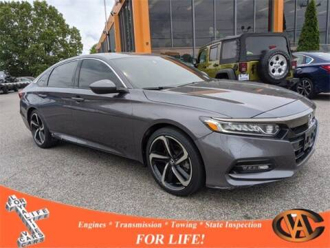 2018 Honda Accord for sale at VA Cars Inc in Richmond VA