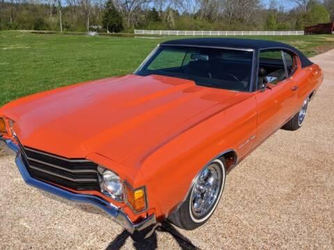 1972 Chevrolet Malibu for sale at Classic Car Deals in Cadillac MI