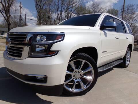 2015 Chevrolet Tahoe for sale at Calvary Motors, Inc. in Bixby OK