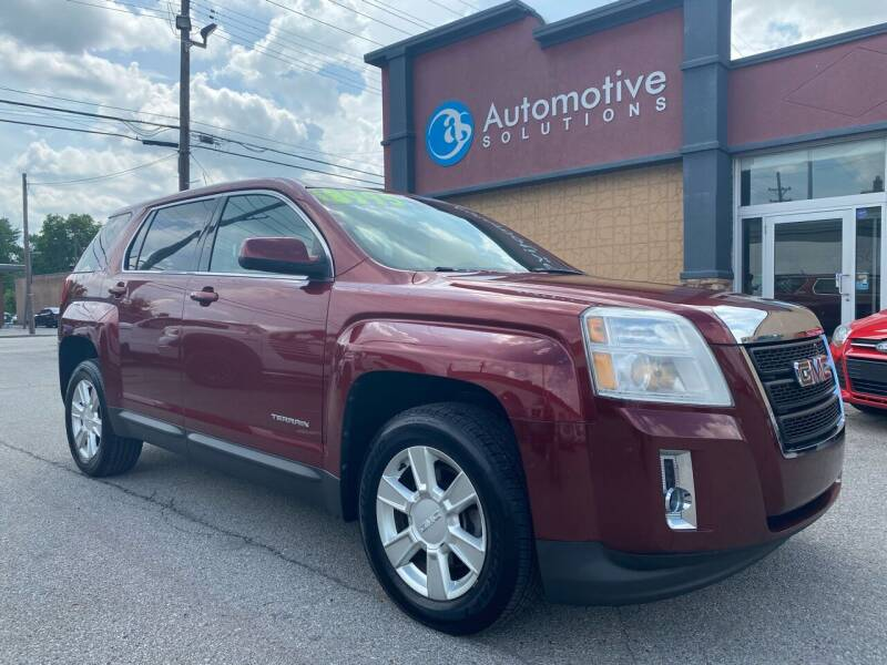 2010 GMC Terrain for sale at Automotive Solutions in Louisville KY
