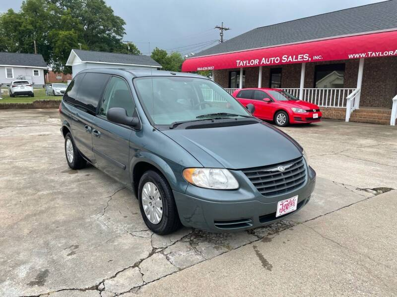 2007 Chrysler Town and Country for sale at Taylor Auto Sales Inc in Lyman SC