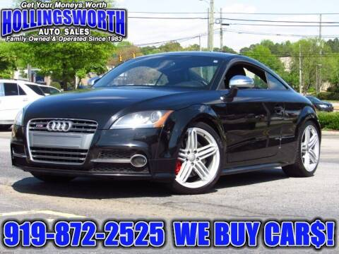 2012 Audi TTS for sale at Hollingsworth Auto Sales in Raleigh NC