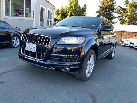 2013 Audi Q7 for sale at Ronnie Motors LLC in San Jose CA