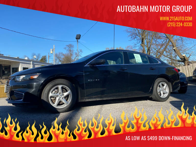 2017 Chevrolet Malibu for sale at Autobahn Motor Group in Willow Grove PA