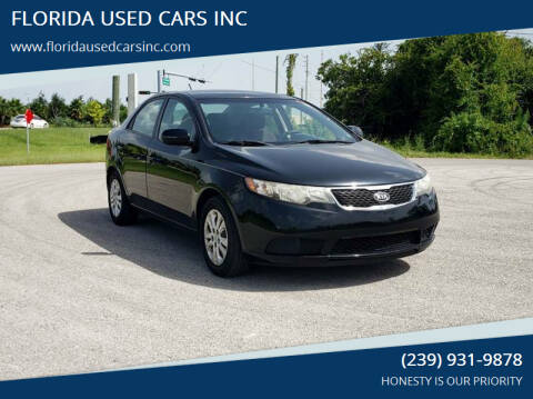 2013 Kia Forte for sale at FLORIDA USED CARS INC in Fort Myers FL