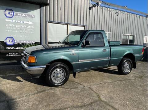 1996 Ford Ranger for sale at Chehalis Auto Center in Chehalis WA