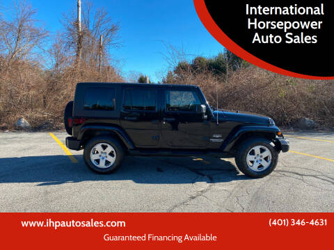 2010 Jeep Wrangler Unlimited for sale at International Horsepower Auto Sales in Warwick RI