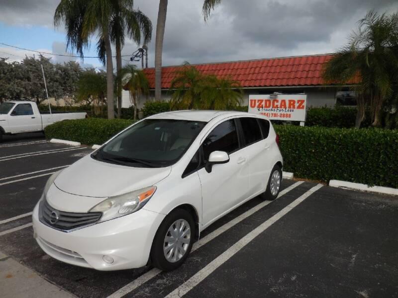 2014 Nissan Versa Note for sale at Uzdcarz Inc. in Pompano Beach FL
