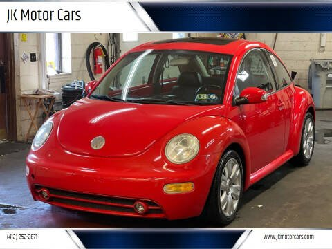 2003 Volkswagen New Beetle for sale at JK Motor Cars in Pittsburgh PA