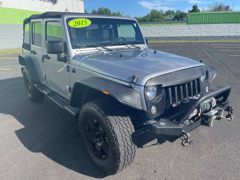 2015 Jeep Wrangler Unlimited for sale at South Shore Auto Mall in Whitman MA