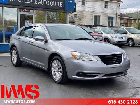 2014 Chrysler 200 for sale at MWS Wholesale  Auto Outlet in Grand Rapids MI