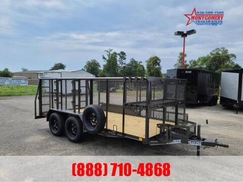 2021 STAGECOACH 14' LANDSCAPE TRAILER for sale at Montgomery Trailer Sales in Conroe TX