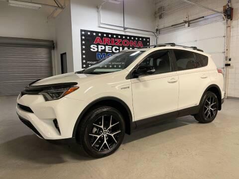 2017 Toyota RAV4 Hybrid for sale at Arizona Specialty Motors in Tempe AZ