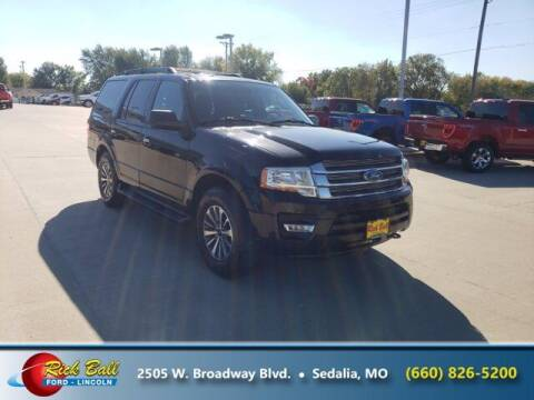 2015 Ford Expedition for sale at RICK BALL FORD in Sedalia MO